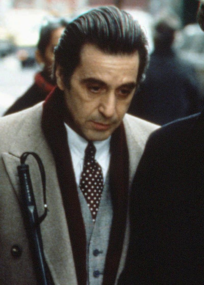 d6841e135c Al Pacino ako Frank Slade vo filme Vôňa ženy
