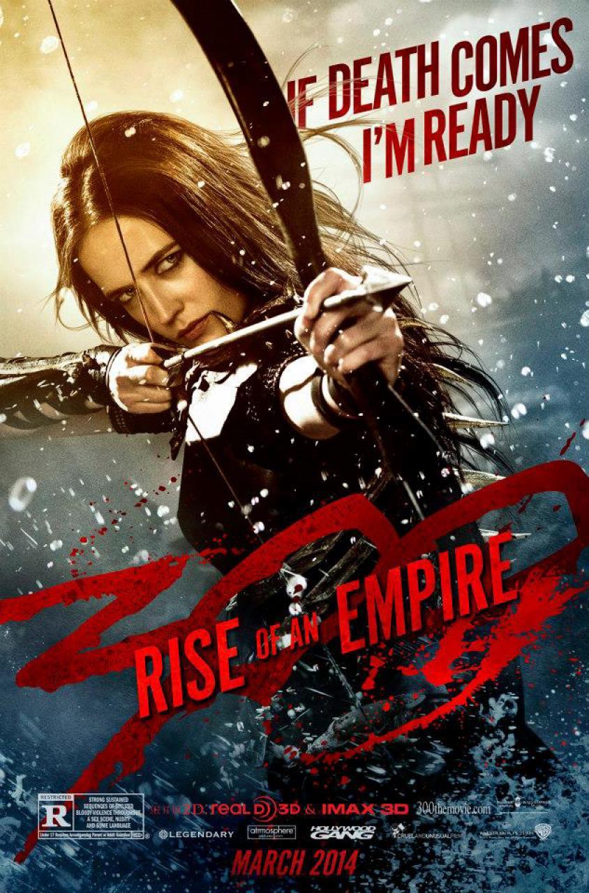 Oficiální plakát ke snímku 300: Vzestup říše