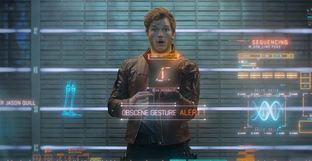 Chris Pratt se v Peteru Quillovi opravdu našel a jeho herecký výkon byl skvělý.