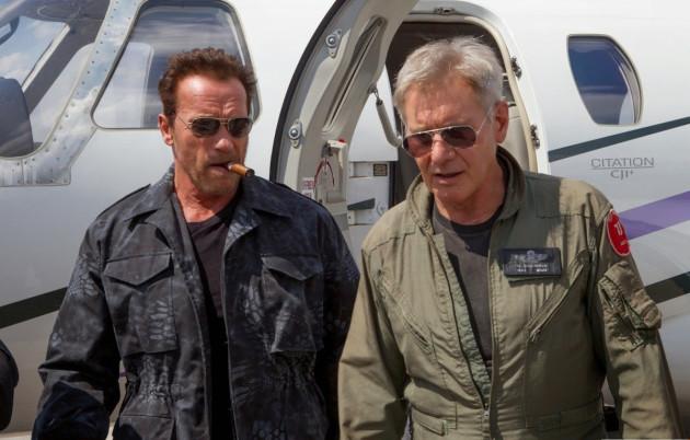 Arnold Schwarzenegger a Harrison Ford