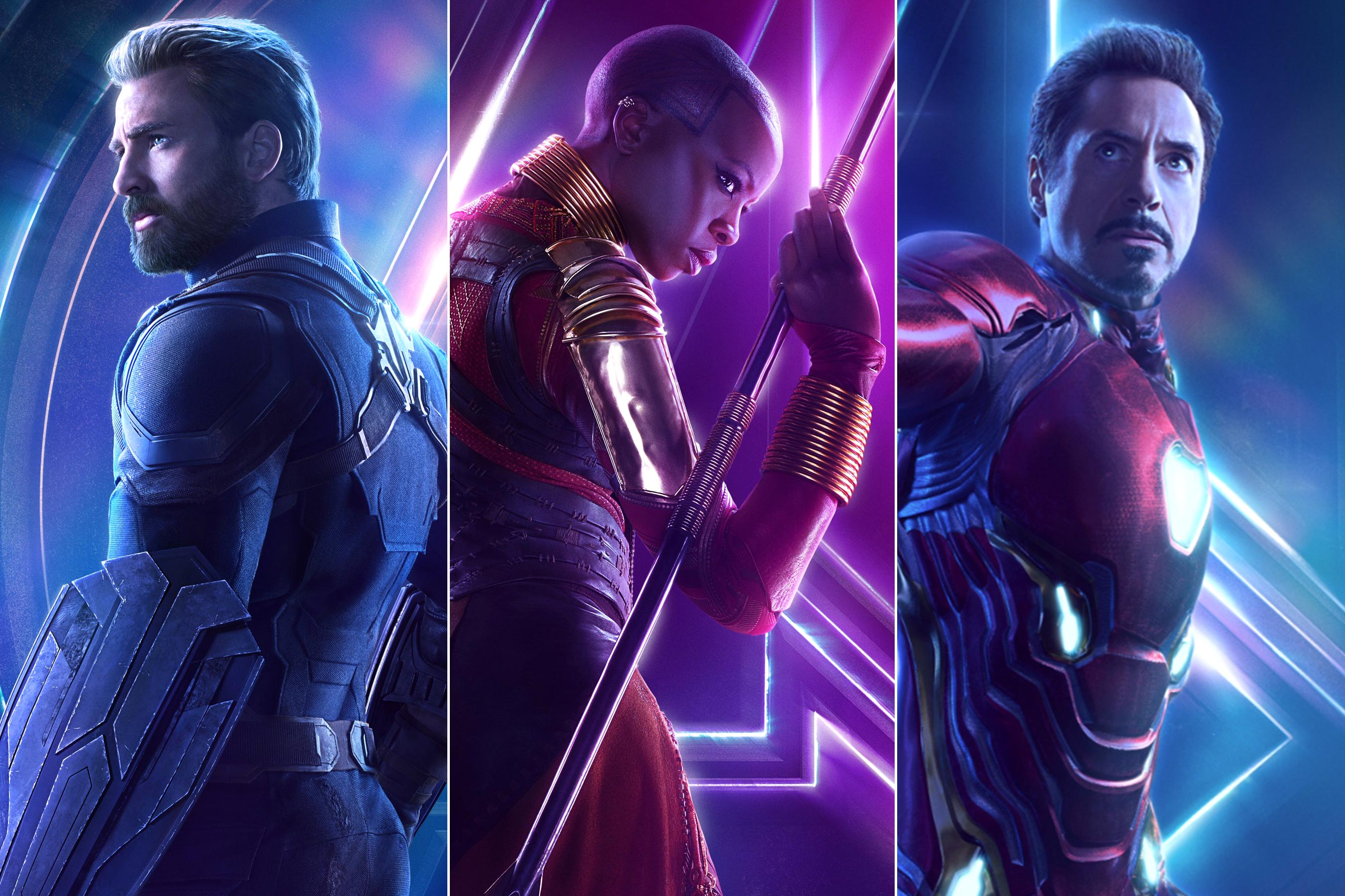 Dokážete vyjmenovat všechny důležité postavy,které se objevili ve filmu Avengers:Infinity War