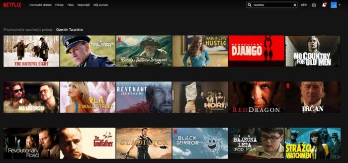 Vyhledávání na Netflixu je zázračné